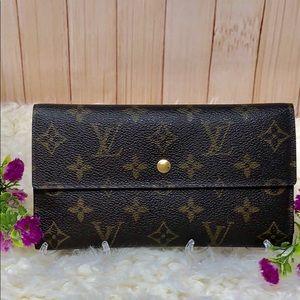 Authentic Louis Vuitton Long International Wallet